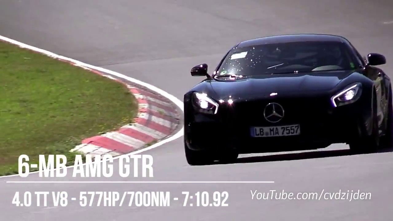 Fastest Cars Around The Nürburgring 2018