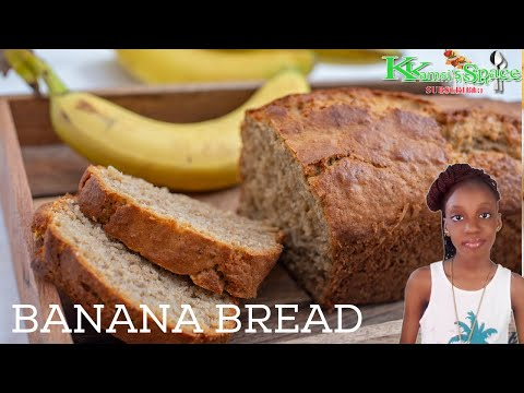 This is how to make banana bread recipe with banana - easy and yummy