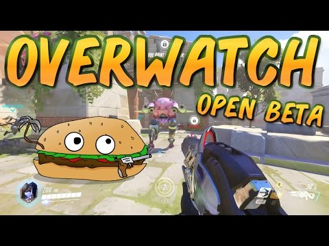 Lets Try Games - OVERWATCH (Open Beta)