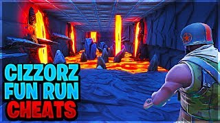 CIZZORZ FUN RUN ALL CHEATS Levels 1-7 in Fortnite...