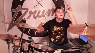 Avenged Sevenfold - Almost Easy - Drum Cover