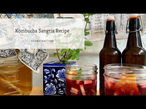 Kombucha Sangria Recipe | Homemade Cocktail ����