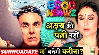 Not Kareena Kapoor This Actress Will Play Akshay Kumar's Wife Role In GOOD NEWWZ!
