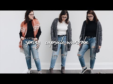 [VIDEO] - 2018 Spring Capsule Wardrobe | 50+ Outfits From 15 Items 9