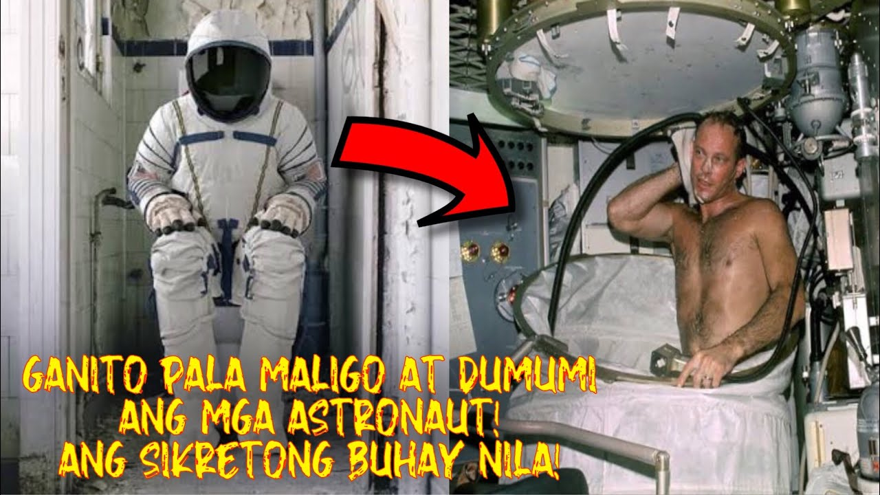 GRABE! GANITO PALA MALIGO at DUMUMI ang mga ASTRONAUT sa SPACE! DAPAT MONG MAKITA!