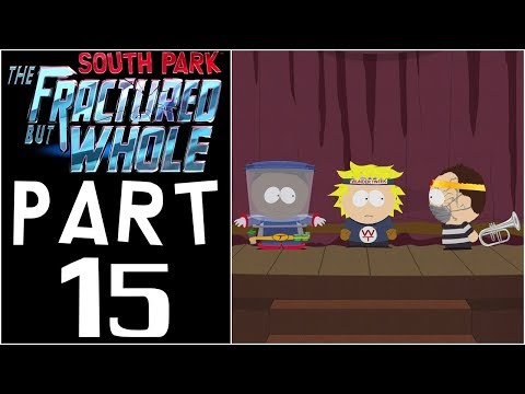 "South Park: The Fractured But Whole - Let's Play - Part 15 - ""Old Folks Home, Economics, 4th Class"""