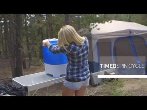 BaseCamp by Mr. Heater Portable Single Tub Washing Machine
