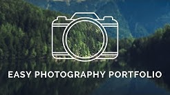 Easy Photography Portfolio - How to setup a photography portfolio with a free WordPress plugin