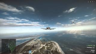 Battlefield 4 Attack Jet - Test Range - JDAM Training