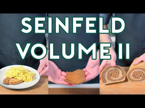 Binging with Babish: Seinfeld Volume II