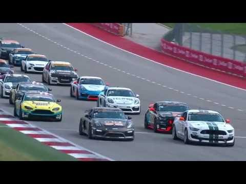 2016 Continental Tire Challenge - COTA Broadcast
