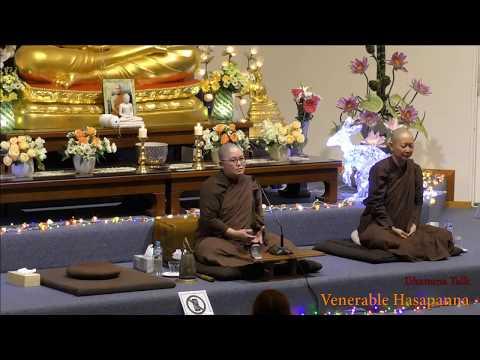 dhamma talk venerabl|eng