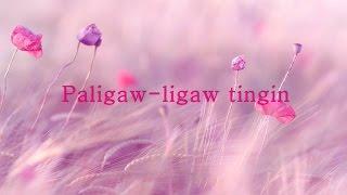 paligaw ligaw tingin with lyrics