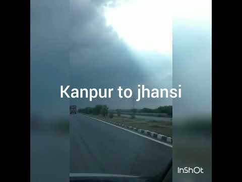 Awesome Weather way to kanpur jhansi