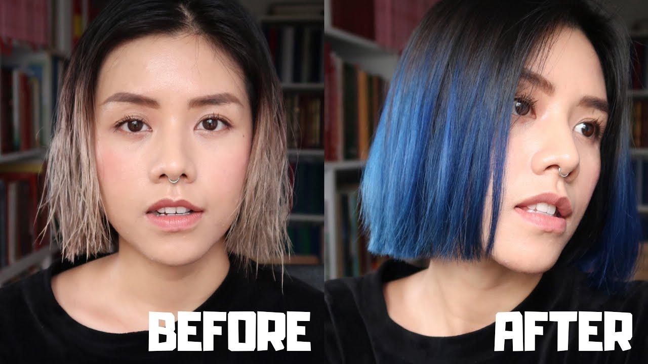 #3 NHUỘM TÓC TẠI NHÀ/ DYING MY HAIR BLUE – Gau Zoan