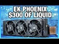 EK-MLC Phoenix 360 Review: $300 of Liquid Cooling