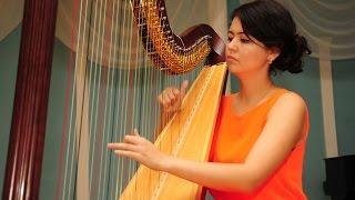 �������� ���� Играет Айдана Карашева (арфа) Казахстан ������