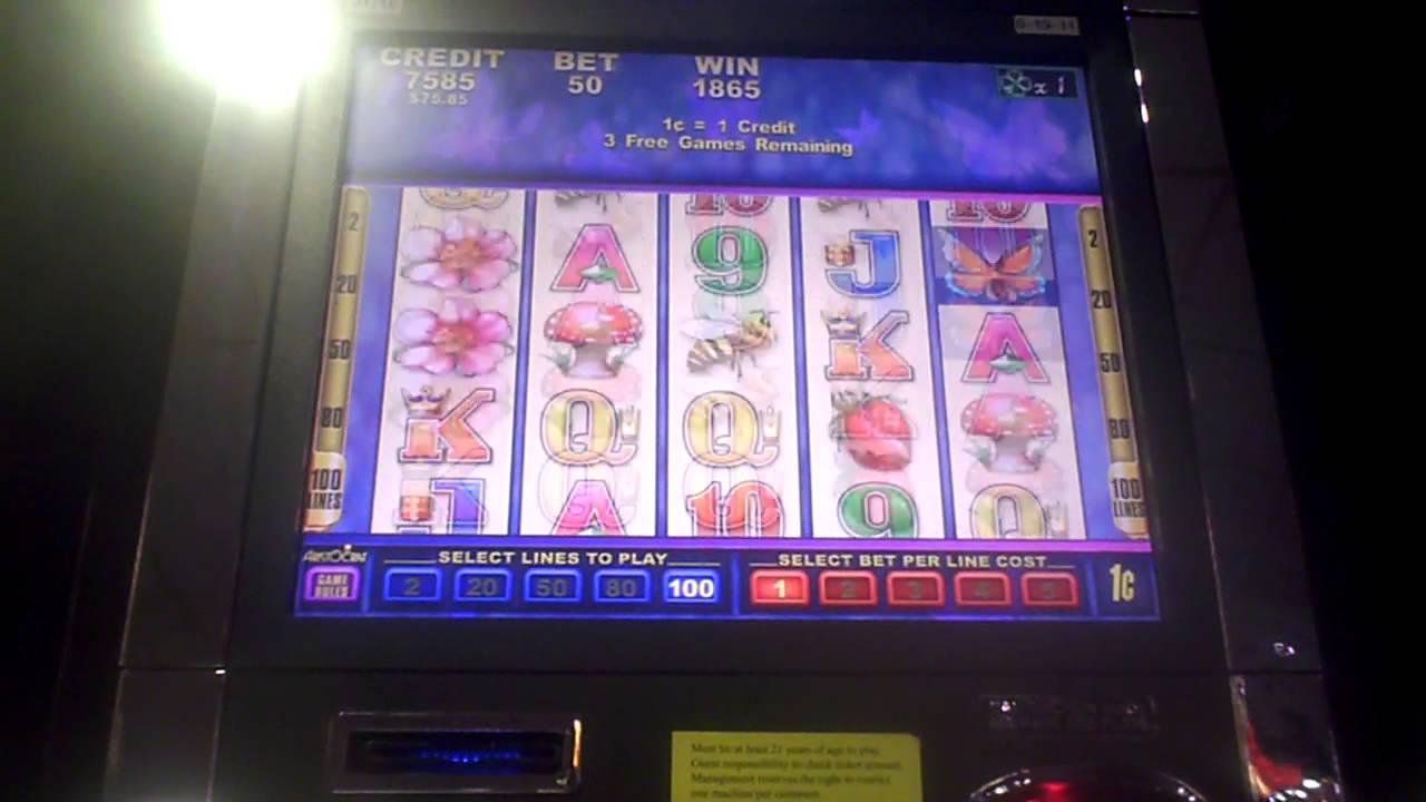 Butterfly Kisses Slot Machine