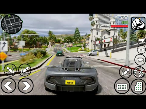 GTA V Android Modpack 2019 | 400 MB Apk + Data | Support All Devices | GTA SA Android