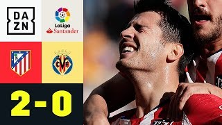 Debüt-Tor! Alvaro Morata atmet durch: Atletico Madrid - Villarreal 2:0 | La Liga | DAZN Highlights