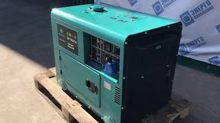 электрогенератор Gesht GD7500E обзор