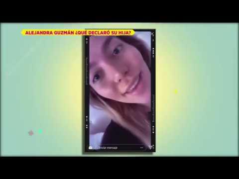 Alejandra Guzmán revela que Frida Sofía sufre Trastorno Límite de la Personalidad  De Primera Mano