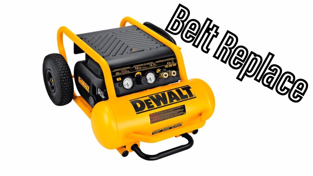 medium resolution of dewalt air compressor d55146 belt replacement