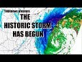 The Historic East Coast storm has Begun & will be VERY NASTY.