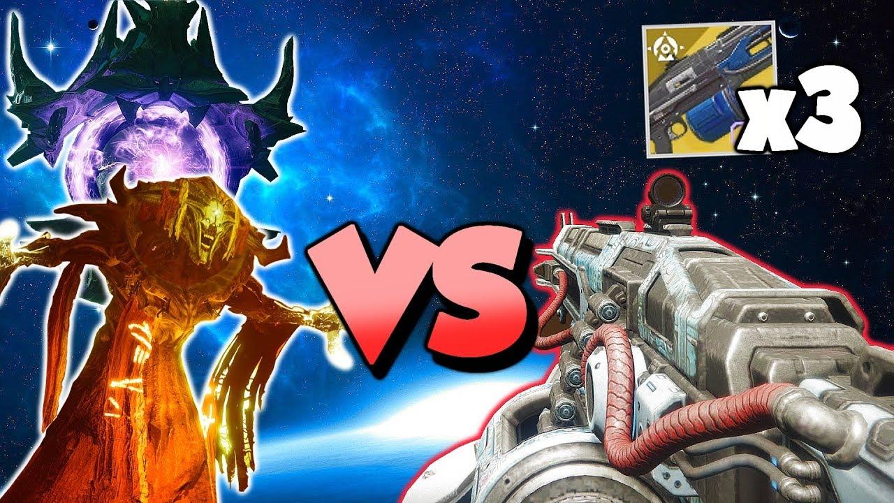 Thunderlord SHREDS All Strike Bosses! [Destiny 2 Forsaken]