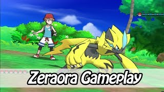 Zeraora Gameplay - New Mythical Pokemon - Pokemon Ultra Sun & Ultra Moon