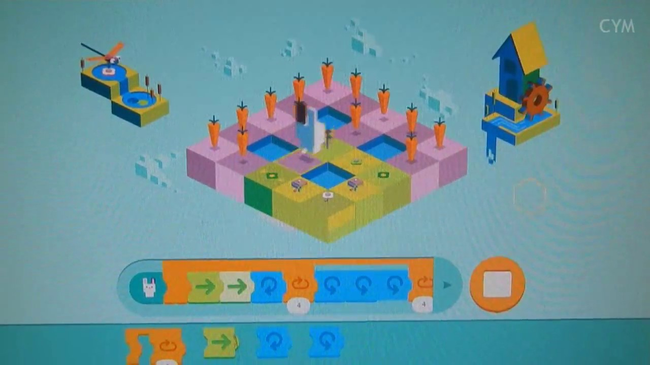 61ae592e764d Google Doodle Coding for Kids - level 5 - YouTube