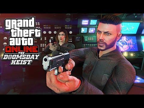 GTA 5 DLC  THE DOOMSDAY HEIST *SECRET AGENT RESCUE*  ACT 3, PART 1!! GTA 5 Online Heists