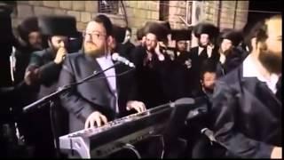 Dancing In Meron With Satmar Rebbe R' Aharon Teitelbaum - Adar II 5776