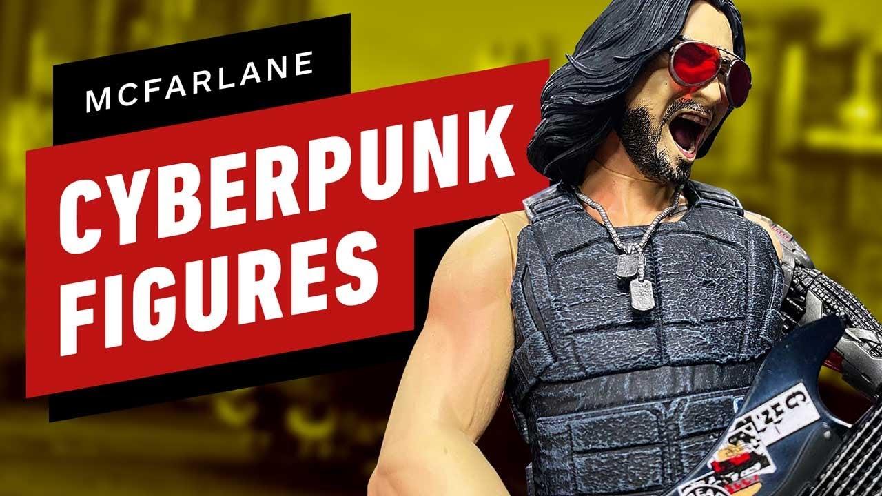 Unboxing Cyberpunk 2077 McFarlane Toys Action Figures thumbnail
