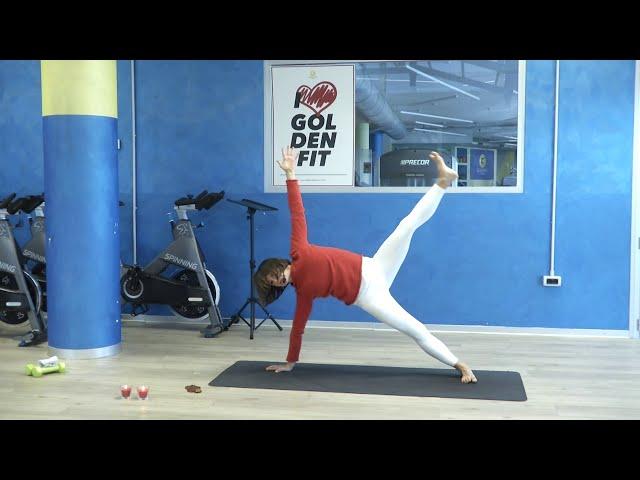 Yoga dinamico con Carlotta