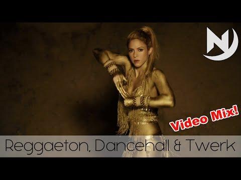 Best Reggaeton Dancehall Twerk Video Mix #17 |  New Latin Hip Hop RnB Pop Club Dance Music 2017