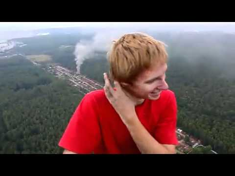 Scared of heights?  Don't watch this