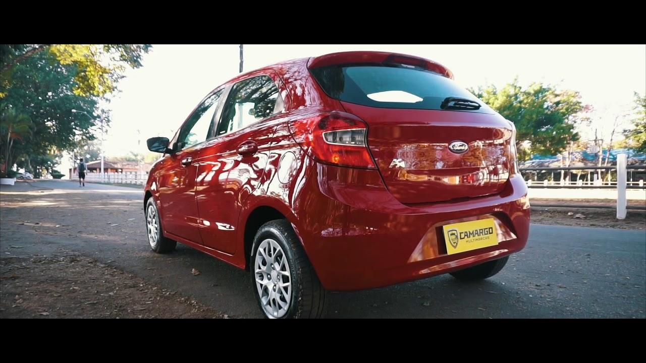 Novo Ford Ka Vermelho Arpoador 2015 Completo Youtube