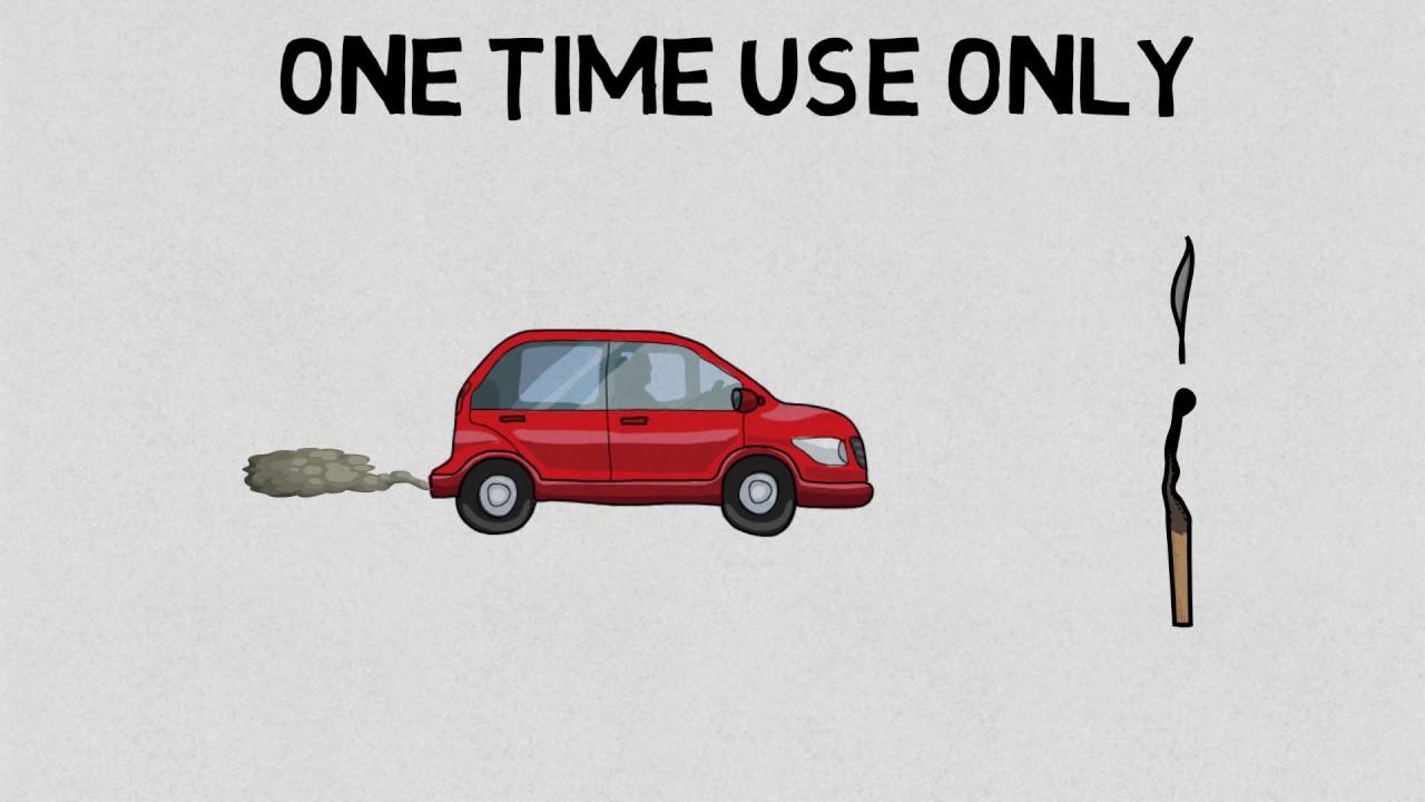 Fuel Car Vs Electric Car Youtube