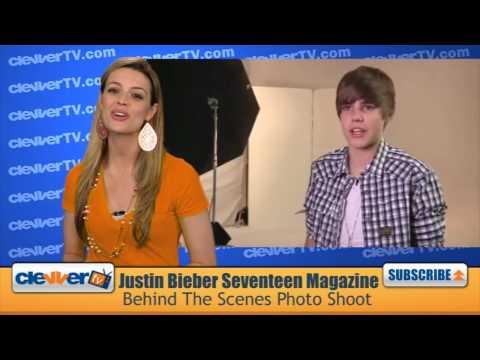 Justin Bieber Seventeen Magazine Photoshoot