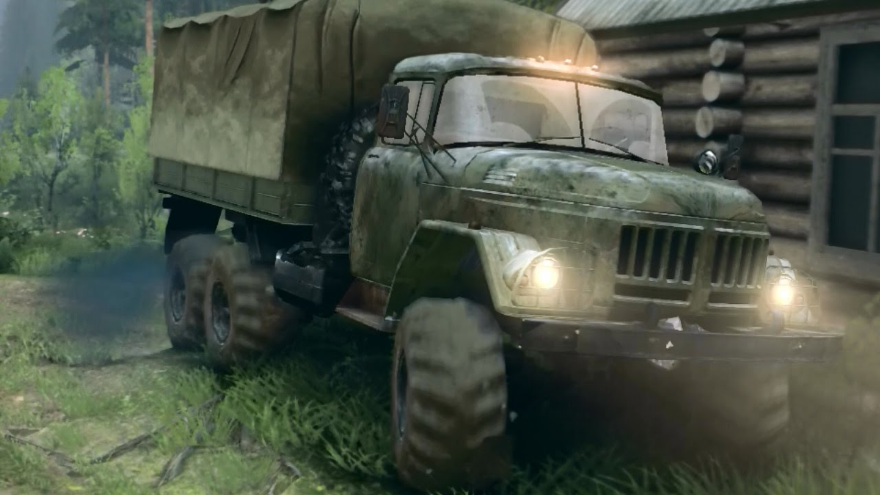 Spintires modded pack zil 1314334 trucks the river map youtube spintires modded pack zil 1314334 trucks the river map sciox Images