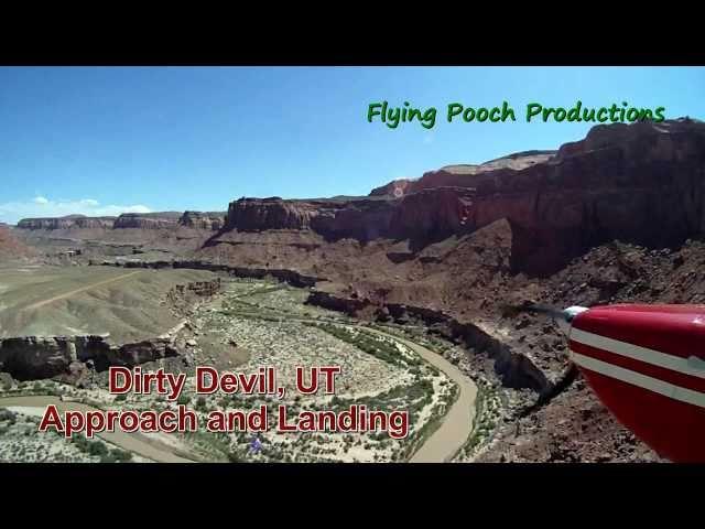 Dirty Devil, UT - Approach and Landing (Utah backountry ) HD