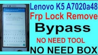 How To Flash Lenovo A7020A48