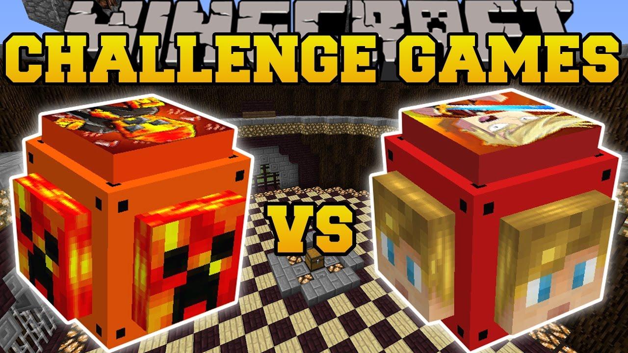 Minecraft Prestonplayz Vs Lachlan Challenge Games Lu Doovi