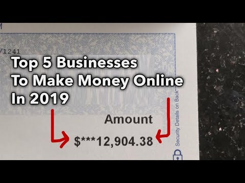 Top 5 Best Business Models To Make Money In 2019 | Make Money Online