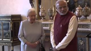 PM Modi meets Queen Elizabeth II