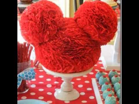 DIY Mickey mouse clubhouse birthday party decorating ideas YouTube