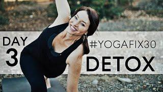 Yoga Twists For Detox & Digestion - Low body Strength YogaFix30 day 3