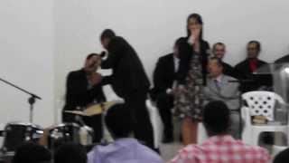 Aurelio Brasil e Raquel Ass de DEUS Madureira Sto Antonio 11/08/13.