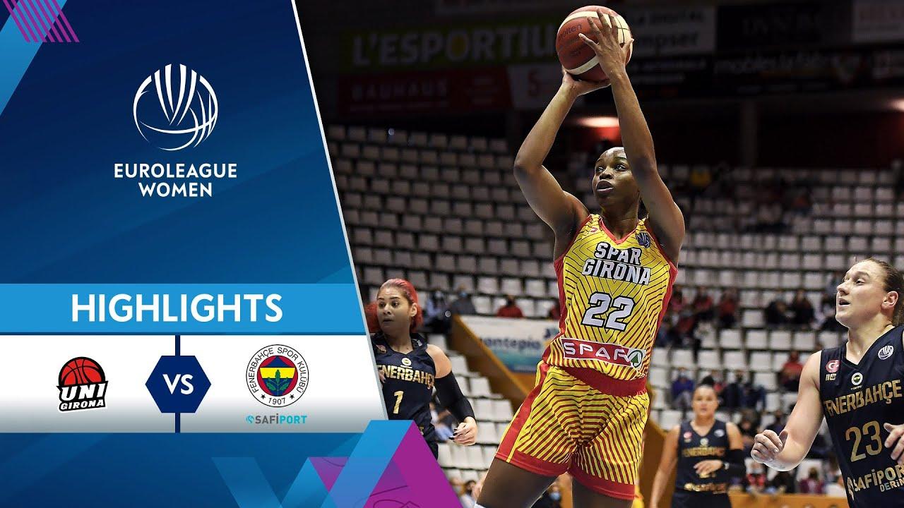 Spar Girona - Fenerbahce Safiport | Highlights | EuroLeague Women 2021/22